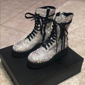 Dolls Kill billionaire bling boots
